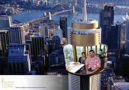 Photo of Sydney Sydney Tower Restaurant Buffet Having lunch at tower