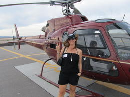 Photo of Las Vegas Skip the Line: Grand Canyon Skywalk Express Helicopter Tour Helicopter = Awesome!
