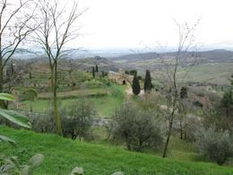 View of the countryside from Montepulciano , curtisn - March 2013