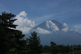 view of mt. fuji from the visitor center. :o , Living a Fairytale - July 2015