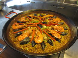 Photo of Barcelona Small-Group Barcelona Cooking Class Perfect Paella