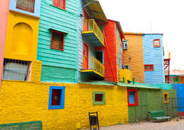 Photo of   Picturesque Caminito Street in La Boca