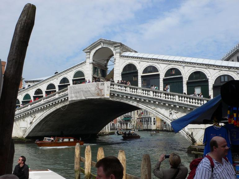 Rialto Bridge - From the Nice Side - Venice