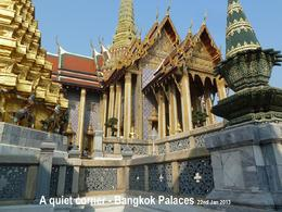 Photo of Bangkok Private Tour: Bangkok's Grand Palace Complex and Wat Phra Kaew The only quiet corner?