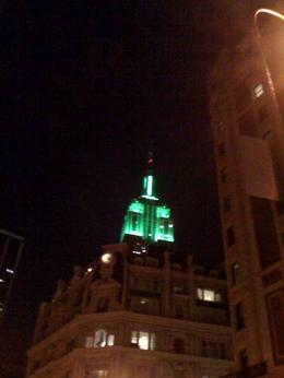 Photo of New York City The New York Pass The View of Empire State on St. Patrick's Day