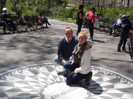 Photo of   Visit to Strawberry Fields memorial
