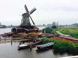 Actual working operational windmills on the tour , Robert H - June 2016