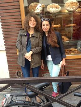 with Myrian bakery Poilane , elvira z - August 2014