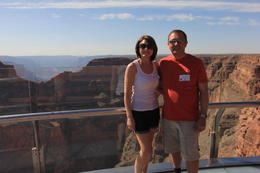 Photo of Las Vegas Ultimate Grand Canyon 4-in-1 Helicopter Tour Yvonne  and  Rob Regan UK Sky Walk May 2013