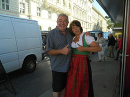 Photo of Salzburg The Original Sound of Music Tour in Salzburg A big thumbs up from Stevie T and Natasha the tour guide