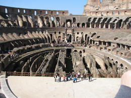 Another angle of inside the Colosseum. , Phillip S - March 2014