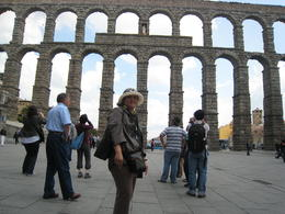 Photo of Madrid Avila and Segovia Day Trip from Madrid Avila aqueduct