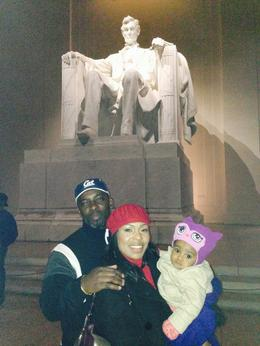 Lincoln memorial at night , Bunzi B - March 2014