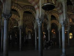 Inside the mosque. - July 2008