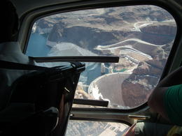 Just one of the wonders you fly over on your way to the Grand Canyon. The Hoover Dam , MICHAEL N - March 2013