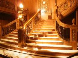 Photo of Orlando Titanic The Experience Grand Staircase