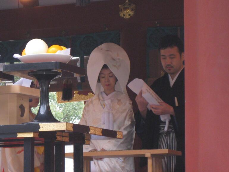 Japanese wedding at the Shrine - Tokyo