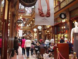 The ground floor of the Strand Arcade, Undercover Américan - October 2010