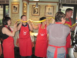 "Photo of Rome Rome Walking Tour and Cooking Class A ""mile"" of ravioli!"
