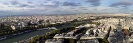 Photo of Paris Skip the Line: Eiffel Tower Tickets and Small-Group Tour Another panorama from Level 1