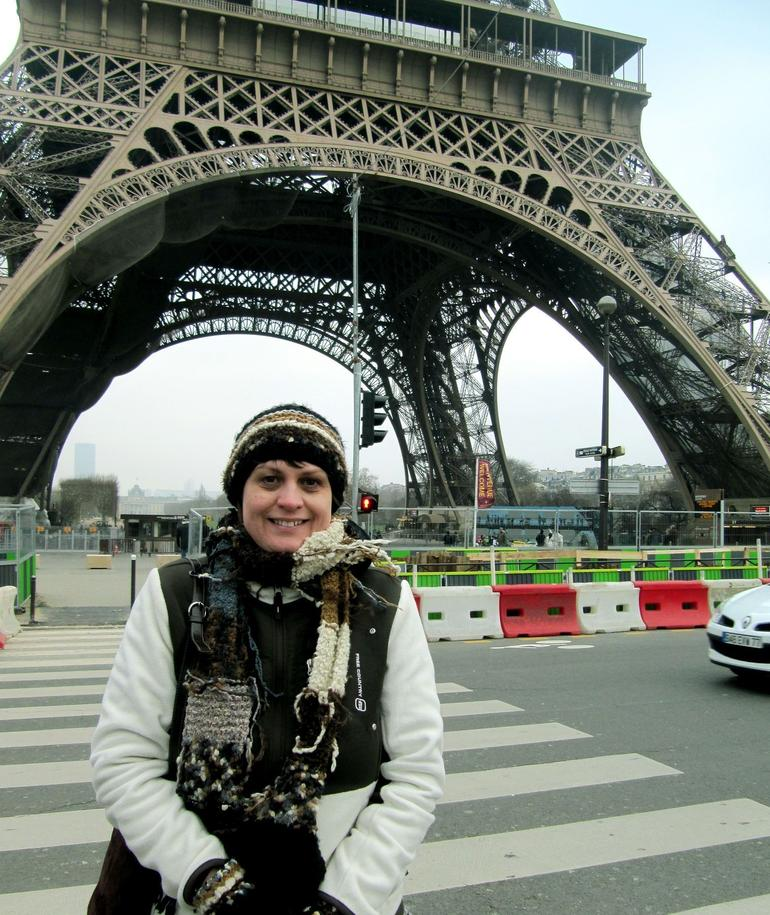 Karen at Tour Eiffel - Paris