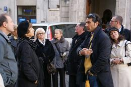 Photo of Rome Classical Rome City Tour Massimo, our excellent tour guide outside the Pantheon