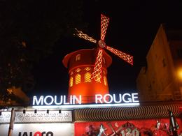 Outside the Moulin Rouge, Gail B - September 2009