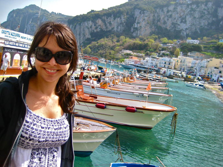 My new Wife in Capri - Rome