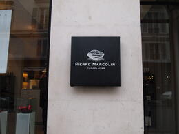 Yummy chocolates from Pierre Marcolini, Rachel - March 2014