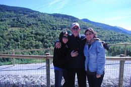 My wife, daughter and myself , Francisco M - November 2012