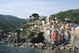 Photo of Florence Cinque Terre Hiking Day Trip from Florence Riomaggiore view from the sea