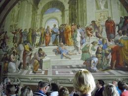 Photo of Rome Skip the Line: Vatican Museums Walking Tour including Sistine Chapel, Raphael's Rooms and St Peter's The School of Athens - Raphael