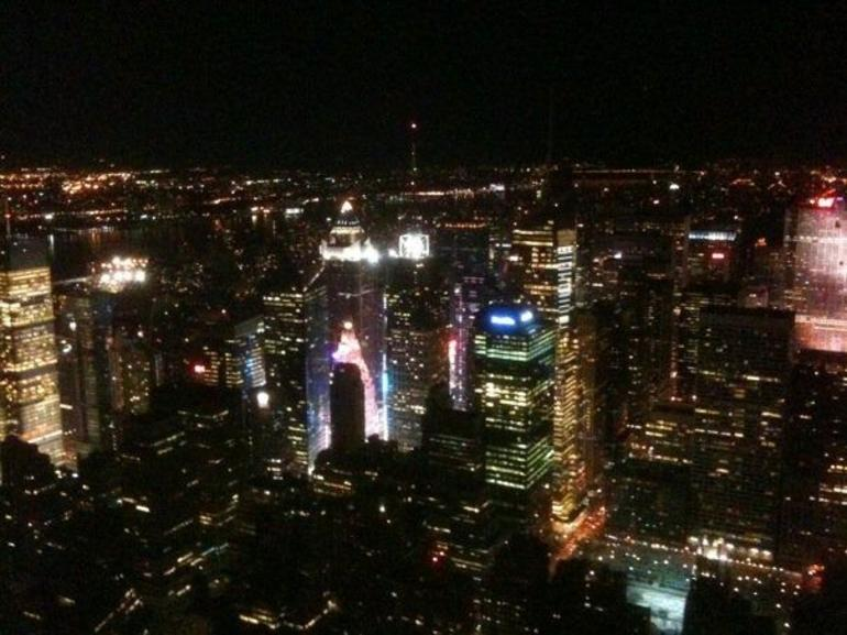 The View from Empire State Building - New York City