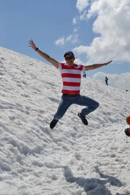 At the top of Titlis!!! , Andres P - August 2013