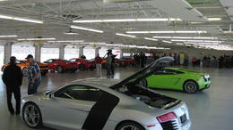 Photo of Las Vegas Exotic Car Driving Experience Power Package Checking out the cars