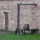 Photo of Prague Terezin Concentration Camp Day Tour from Prague Gallows for those hanged, instead of shot.