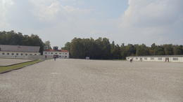 Photo of Munich Dachau Concentration Camp Memorial Small Group Tour from Munich Gathering Grounds