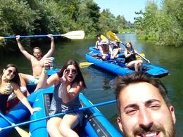 river selfie, Ginjabread - September 2014