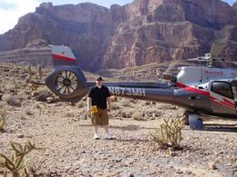 Me next to our Maverick helicopter. , Craig J - March 2014
