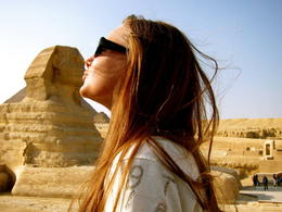 Photo of   Kissing the Sphinx