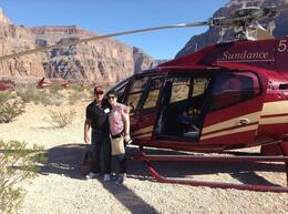 Photo of Las Vegas Grand Canyon All American Helicopter Tour Made it