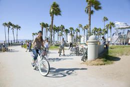 Photo of Los Angeles Electric Bicycle Tour of Santa Monica and Venice Beach Nothing better than biking at the beach