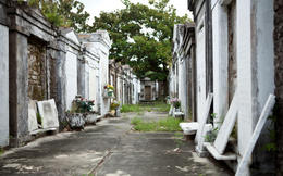 Old Cemetery in New Orleans - May 2011