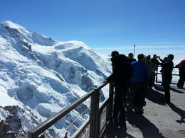Photo of Geneva Chamonix French Alps Day Tour from Geneva by Open-Top Bus One of the viewing platforms