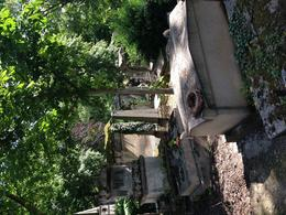 Pere-Lachaise Cemetery old graves , sharon m - June 2014