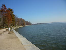 The Potomac River can be seen from everywhere, Irene - November 2012