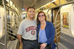 Photo of New York City Private New York Walking Tour with a Personal Photographer Riding the New York Subway