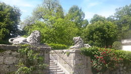 Photo of Munich Salzburg Small Group Day Tour from Munich Saltzburg amazing entrance beautiful gardens