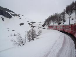 Bermina Express Swiss Alps(april/4/2014) , Raquel P - April 2014