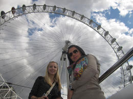 At the London Eye, Viator Insider - September 2014